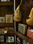 Journals and instruments, all Fair Trade and many from recycled materials